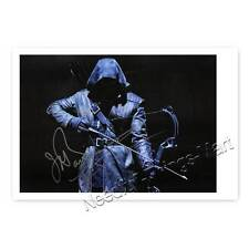 John Barrowman as Malcolm merlyni from Arrow Autograph Photo Laminated [a1]