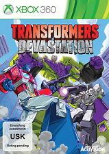 Transformers: Devastation (Microsoft Xbox 360, 2015, DVD-Box)