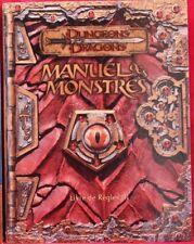 JDR Dungeons & Dragons - Manuel des Monstres
