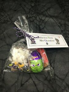Adult Witches Brew Theme Hot Chocolate Gift Set Sweets Halloween