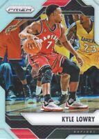 2016-17 Panini Prizm Basketball Silver Prll #212 Kyle Lowry Toronto Raptors