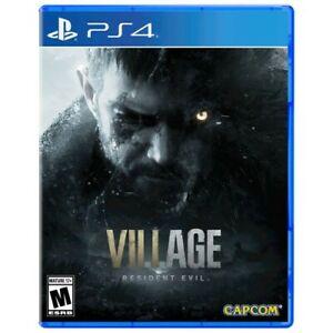 Resident Evil Village -- Standard Edition (PlayStation 4 PS4, 2021)