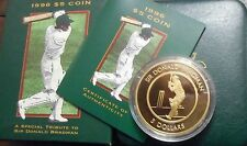 1996 Sir Donald Bradman   Proof  $5 Coin NICE