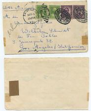 51177 - USA - Saint Louis 15.10.1932 nach Los Angeles - Briefvorderseite