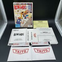 "Taito Renegade for IBM PC XT AT PS/2 Compaq and Tandy 1000 on 5.25"" Big Box *Cib"