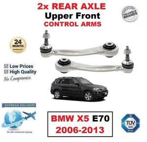 2x REAR AXLE Upper SUSPENSION Front TRACK CONTROL ARMS for BMW X5 E70 2006-2013