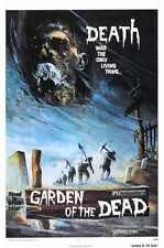 Garden Of The Dead Poster 01 A3 Box Canvas Print