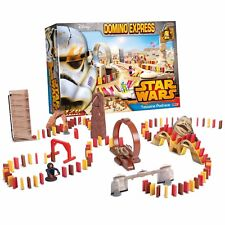STAR WARS Domino Express Tatooine Pod Race 120 Large Dominoes Rally Game Set NEW