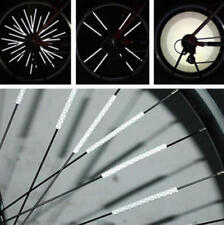 12 x BIKE BICYCLE CYCLING SPOKE WHEEL REFLECTOR REFLECTIVE Safety