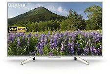 SONY KD49XF7073 49-Inch 4K HDR Ultra HD Smart TV-Silver (2018 Model)
