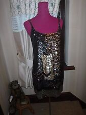 Stunning  All Saints Bloque Sequin Dress Size 12 Excellent Condition