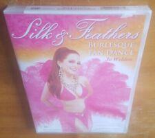 Silk Feathers: Burlesque Fan Dance (DVD, 2009) Jo Weldon lessons technique NEW