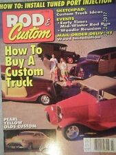 VINTAGE ROD & CUSTOM MAGAZINE .JULY 1994..HOW-TO INSTAL TUNE PORT INJECTION