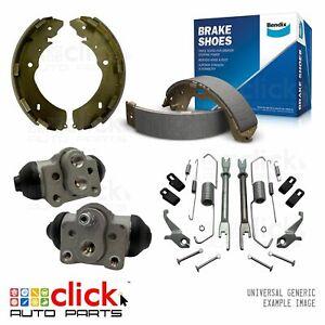 Rear Bendix Brake Shoes Cylinders Springs for Triton GLX ML KA9 09/06 - 09/09