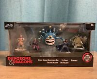 Dungeons & Dragons Jada Toys DIE CAST 5 figure set BEHOLDER INCLUDED!