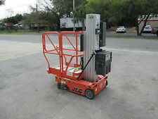 JLG MODEL 12SP OR 15SP ELECTRIC PERSONNEL LIFT, PLATFORM HEIGHT IS 12' OR 15'