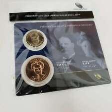 2013 Presidential $1 Coin & 1st Spouse Medal William & Helen Taft Set CBX4WHT34