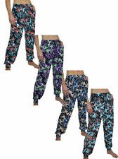 Cotton Harem Trousers for Women's Regular Size Loose Fit