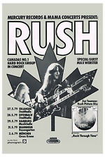 Rush German Tour Poster 1979