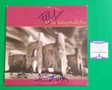 BONO AND EDGE SIGNED U2 UNFORGETTABLE FIRE ALBUM CERTIFIED WITH BAS COA psa jsa