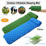 Inflating Mat Outdoor Tent Sleeping Pad For Hiking Camping Car Air Mattress