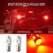 1Set 6-Cree-XB-D 30W Red 1157 2057 1156 Tail Light High Power & 6Ohm Resistors