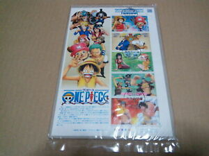 one piece animation anime japan stamp full sheet