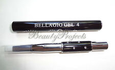 UV Gel Flat Brush SIZE 4 Acrylic Nail Art Gel Builder Pen Professional Bellagio