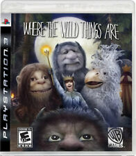 Where the Wild Things Are: The Videogame PS3 New Playstation 3