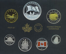 2015 Canada Flag 7 Coins Set 50th Anniversary Special Edition Silver Dollar