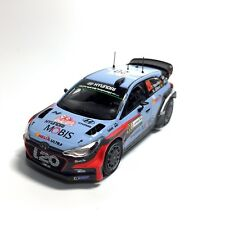 Hyundai i20 Coupe WRC 1:43 Rally Winner Italy 2016 Mini Car - Thierry Neuville