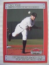 NICK BUCCI 2010 MIDWEST ALL-STAR GAME baseball card BREWERS MWL ONTARIO CANADA