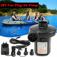12 / 230V Electric Air Pump For Inflatables Toys Boat Swimming Laps Vacuum Bags