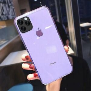 Coque Etui Silicone Protection TPU iPhone 13 Pro Max 13 mini 12 11 XS XR SE 8 7