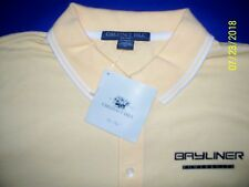 Bayliner Powerboats Screen Printed Dri-Fast Chestnut Hill Pique Polo Golf