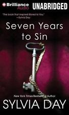 Seven Years to Sin by Sylvia Day (2014, MP3 CD, Unabridged)