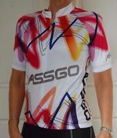 Jassgo Cycling Bike Jersey Ladies Womens Unisex Coloured SLIM FIT #215