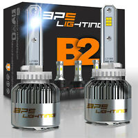 BPS Lighting B2 Series 881 LED Headlight Bulbs Conversion Kit 12000LM 100W