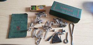 Vintage Singer Sewing Machine Accessories . Manual Etc.