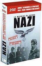 2457//LA MACHINE DE GUERRE NAZI ARMES THECNIQUES STRATEGIES COFFRET 2 DVD NEUF