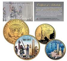 World Trade Center 9/11 *10th Anniversary* 2-Coin 24K U.S. Legal Tender Set
