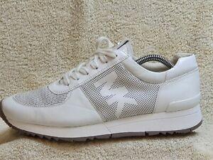 Michael Kors Ladies Comfort trainers Leather White UK 7.5 EUR 40.5 US 9.5