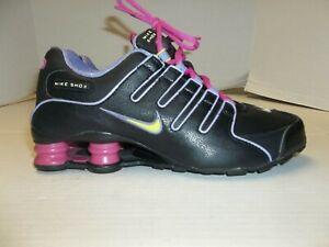 Youth Size 5.5/Eur 38 Nike Shox Black w/ Lavender Trim