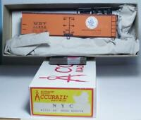 HO Gauge Accurail 3351 40' Wood Refrigerator Car Kit New York Central RR #11958