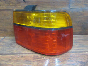 Honda Accord: 1990,  1991,  Right - Passenger Tail Light, Quarter Mounted