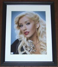 HOT NEW ITEM! Christina Aguilera Signed Autographed 11x14 Photo GA GV GAI COA!