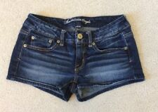 Women's American Eagle Stretch Distressed Jean Shorts Size 2
