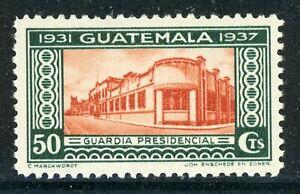 GUATEMALA MH Selections: Scott #289 50c President Ubico 2nd Term CV$6+