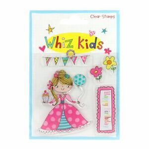 WHIZ KIDS Clear Stamps Set ~ PRINCESS (5pcs)