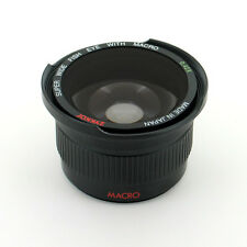 Fisheye Fish Eye Wide + Macro Lens For Sony Alpha NEX-5 NEX-3 NEX5 NEX5N NEX3A